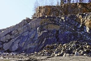 "<div class=""bildtext_en"">»3 Geological anticline structure in the Rensselandia greywacke</div>"