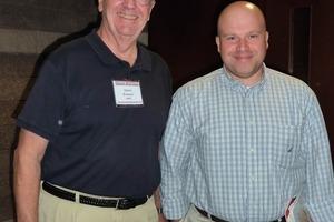 "<span class=""bildunterschrift_hervorgehoben"">»3</span> Denis Brosnan and John P. Sanders (at right) – the old and new NBRC directors<br />"