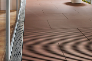 "<span class=""bildnummer"">»2</span> Another new product were the Kampen patio tiles"