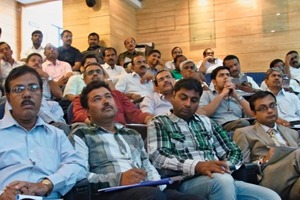 "<span class=""bildunterschrift_hervorgehoben"">»1</span> Around 120 brick entrepreneurs from Karnataka, Kerala and other Southern Indian states visited this year's ECTS symposium<br />"