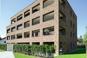"<span class=""bildunterschrift_hervorgehoben"">»4</span> Façade design with bricks and clinkers: residential unit at Dornbirn Villa Quarter, Architect Dipl.-Ing. Christian Lenz"