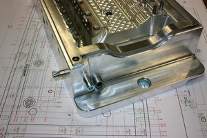 >> 7 Precise tool construction: lower cloak verge working mould