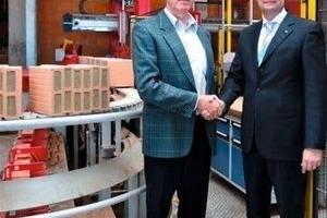 "<span class=""bildunterschrift_hervorgehoben"">»1</span> Frank Appel, Managing Director at Lingl, and Karl Hertle, Area Sales Manager Building Materials Technology, Grenzebach<br />"
