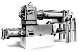 "<span class=""bildunterschrift_hervorgehoben"">»2</span> First Händle-built combined de-airing extrusion machine in 1936<br />"