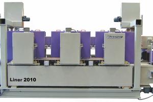"<div class=""bildtext_en""><span class=""bildnummer"">» </span>Brick rectifying machine DFS-04 D Liner 2010, three-stage model</div>"