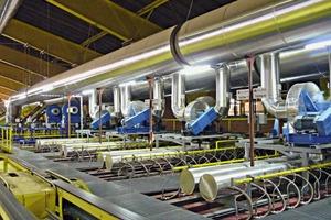 """<div class=""""bildtext_en""""><span class=""""bildnummer"""">»</span> Top view of Ecofast kiln at Erlus AG</div>"""