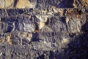 "<div class=""bildtext_en"">»2 Extraction site in the massive sparganophyllum limestone</div>"