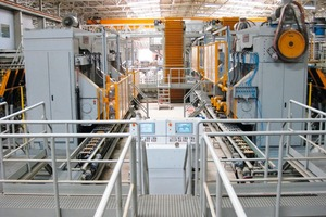 """<span class=""""bildunterschrift_hervorgehoben"""">»2</span> The four presses of type Crono 333 are the largest presses manufactured by Bongioanni Macchine<br />"""