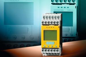 "<span class=""bildunterschrift_hervorgehoben"">»</span> The new safe Sirius 3TK2810-1 speed monitor monitors the standstill and speed of machines and plants<br /><br />"