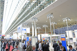 "<div class=""bildtext_en""><span class=""bildnummer"">»</span> The Energy fair in the framework of the Hannover Messe is one of the largest trade fairs for integrated energy systems and mobility</div>"