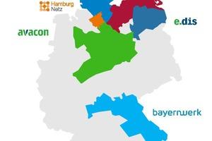 "<div class=""bildtext_en""><span class=""bildnummer"">»1</span> E.ON network regions including downstream networks in Germany</div>"