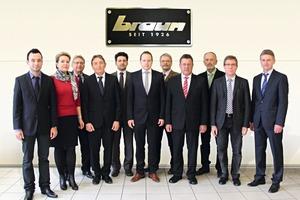 "<span class=""bildunterschrift_hervorgehoben"">»2</span> The sales team at ZMB Braun"