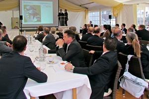 "<span class=""bildunterschrift_hervorgehoben"">»</span> Talks presented at the VIP event"