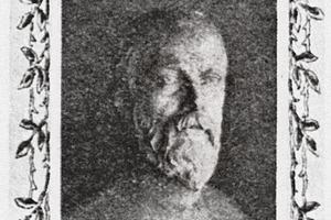 "<span class=""bildunterschrift_hervorgehoben"">»1</span> Albrecht Türrschmiedt (photo appearing in Tonindustrie-Zeitung Vol. 38 No. 17, February 7, 1914)<br />"