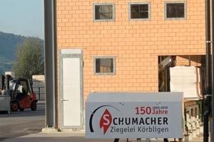"<span class=""bildunterschrift_hervorgehoben"">»1</span> Schumacher Brickworks has been making bricks for more than 150years"