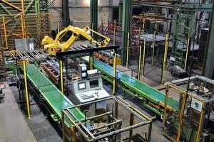 "<span class=""bildunterschrift_hervorgehoben"">»2</span> Wet side modification at the Wienerberger plant in Neustadt, including conversion to robotic equipment<br />"