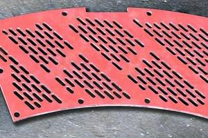 """<span class=""""bildunterschrift_hervorgehoben"""">»</span> HUP-Pietz Verschleißschutz GmbH can now also make pan mill and screen plates"""