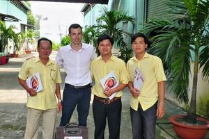 "<span class=""bildunterschrift_hervorgehoben"">»2</span> Alexandre Laruelle (second from left) has been appointed Cleia representative in Southeast Asia<br />"