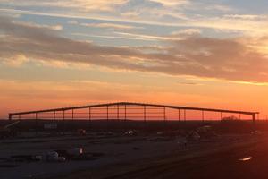 Röben's new factory in Clay County, Texas, USA, November 2014