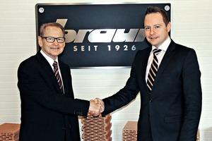 """<span class=""""bildunterschrift_hervorgehoben"""">»1</span> Horst and Christian Rank, the shareholders of ZMB Braun"""