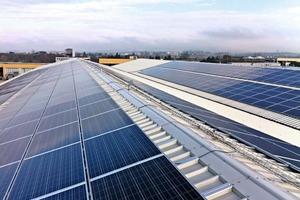 "<span class=""bildunterschrift_hervorgehoben"">»</span> Photovoltaic system installed on the factory roof in Sinalunga"