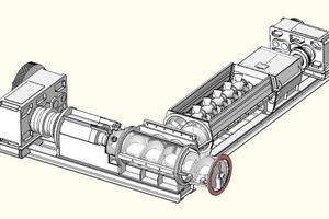 "<span class=""bildunterschrift_hervorgehoben"">»1</span> 3-D diagram of the Type 750 ER extruder<br />"