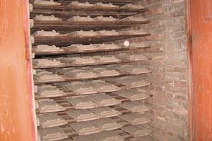"<span class=""bildunterschrift_hervorgehoben"">»11</span> Drying chamber with load of Rhineland tiles<br />"