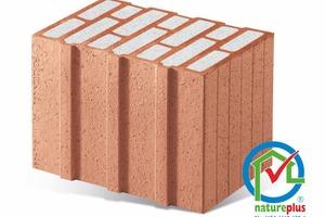 "<div class=""bildtext""><span class=""bildnummer"">»</span> All perlite-filled clay blocks from Schlagmann Poroton now have the natureplus label</div>"