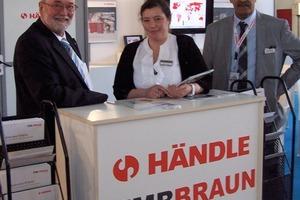 "<span class=""bildunterschrift_hervorgehoben"">»2</span> Dieter Kamp, Händle Sales, left and Nacera Boularbi, Managing Director of Händle Algeria"
