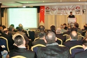 "<span class=""bildunterschrift_hervorgehoben"">»1</span> Talk pre­sented at the Turkish Brick Asso­ciation<br />"