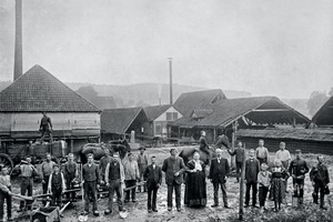 """<span class=""""bildunterschrift_hervorgehoben"""">»1</span> The cornerstone for today's Burton GmbH + Co. KG in Melle was set in 1887 with the founding of a family enterprise<br />"""