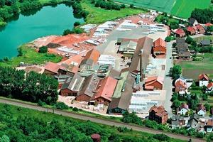 "<span class=""bildunterschrift_hervorgehoben"">»</span> The CRH Clay Solutions plant in Algermissen<br />"