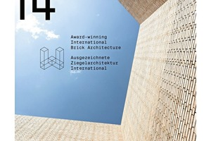"""<span class=""""bildunterschrift_hervorgehoben"""">»9</span> The 9accompanying architecture book 'Brick 14' presents all award winners and nominated projects in great detail; it is published by the Callwey publishing house"""