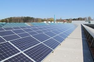 "<span class=""bildunterschrift_hervorgehoben"">» </span>The company invested €&nbsp;2.6&nbsp;mill. in the photovoltaic system"