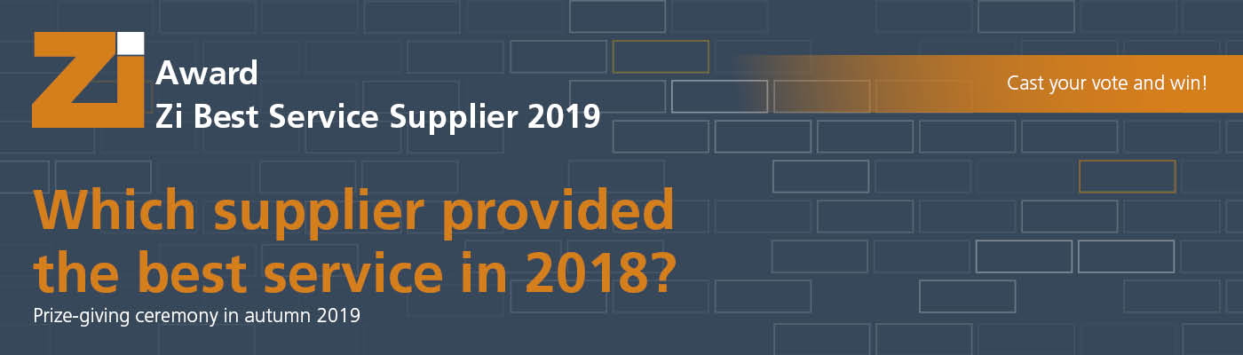Zi Best Service Supplier 2019 Award